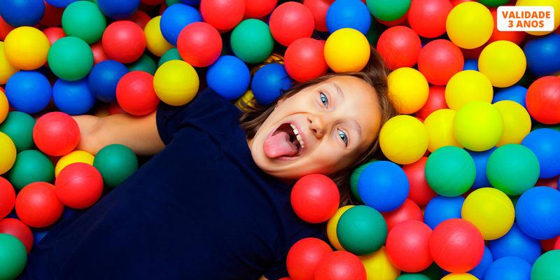 Disco Party! Festa de Aniversário no Mundo da Brincadeira com Lanche | 10 Crianças | Venda do Pinheiro