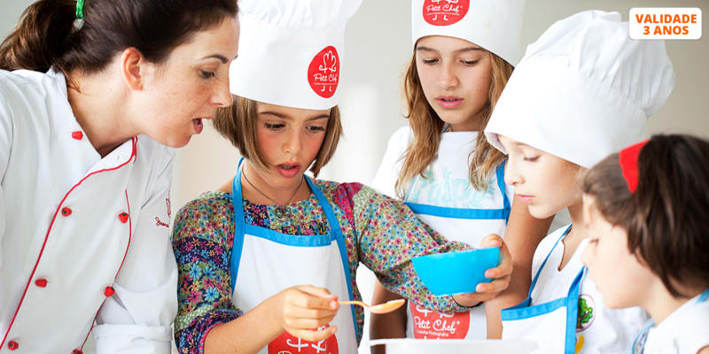 Workshop Petit Chef - As Melhores Receitas para Crianças c/ chef Joana Byscaia - 1h | Oeiras
