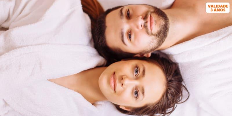 Presente Namorados: Limpeza Pele c/ Peeling, Radiofrequência & Fotorejuvenescimento para Dois | Algés