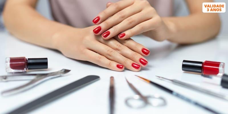 Unhas Incríveis! Manicure ou Pedicure c/ Opção Verniz de Gel ou Gelinho   Seixal