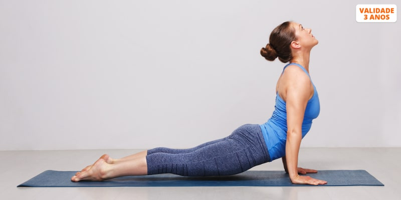 1 Mês de Aulas de Hatha Yoga   Shala Academia - Almada