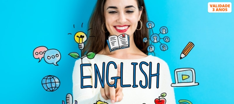 Curso de Inglês Nível I e II - Formato E-Learning   Sociedade Digital