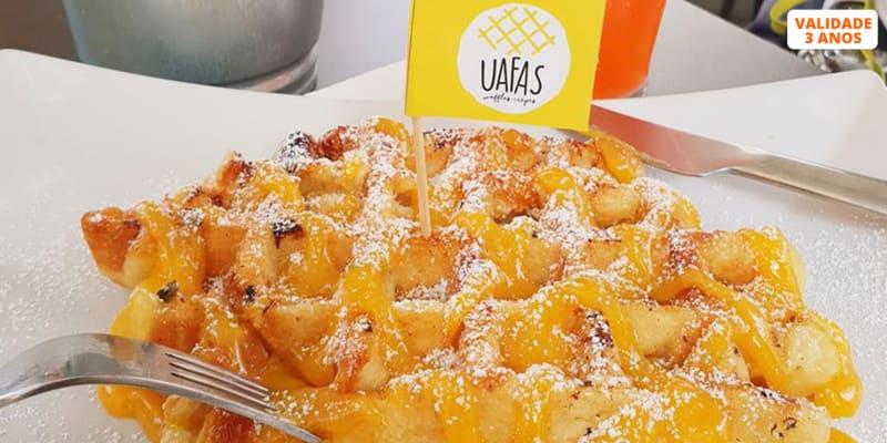 Brunch com os Autênticos Waffles de Liège! Uafas - Évora