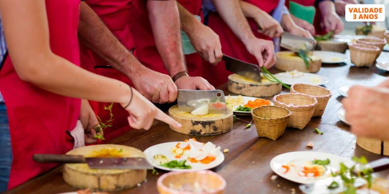 Workshop de Cozinha à Escolha c/ Chefs + Degustação - Até 4h | POP UP Lisboa ou Porto