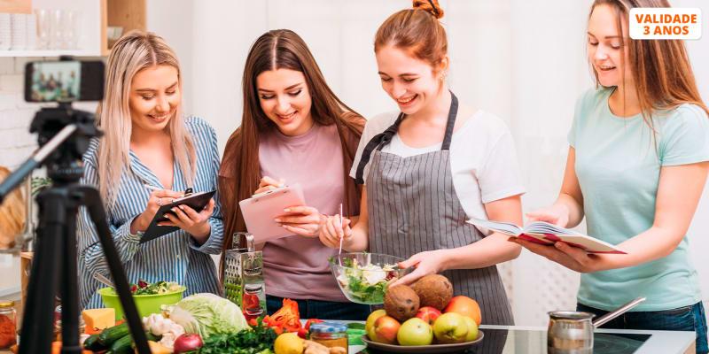Workshop de Alimentação Saudável & Comida Vegetariana com Jantar - 3 Horas | 1 ou 2 Pessoas | Almada