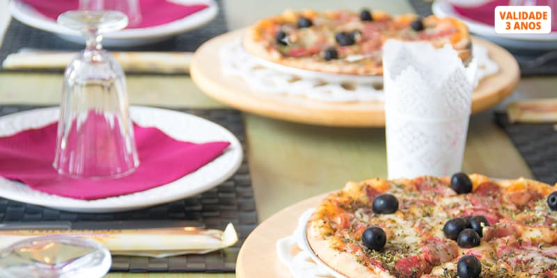 Pizza Grande & Sangria de Lambrusco para Dois no Dona Azeitona | Sintra