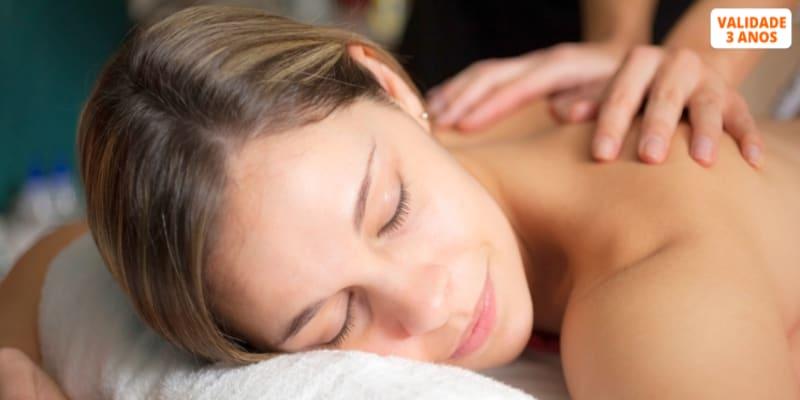 Relax Corpo Inteiro! Massagem Aromática, Adelgaçante ou Shiatsu | 1 Hora | Matosinhos