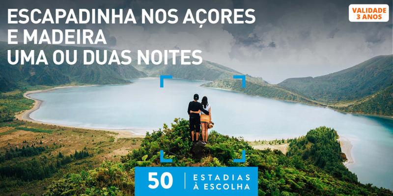 Escapadinha nos Açores e Madeira - Uma ou Duas Noites | 50 Estadias à Escolha