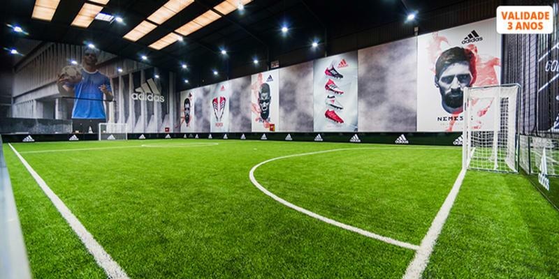 FOOTLAB - O Espaço de Futebol do Futuro! 4 Actividades para 2 Pessoas