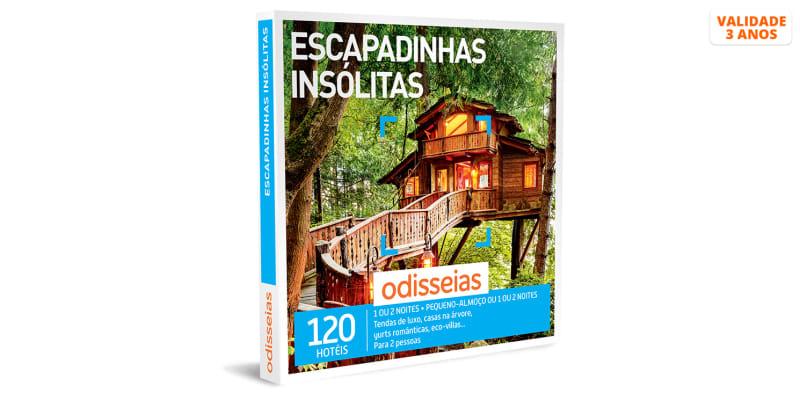Escapadinhas Insólitas   120 Hotéis