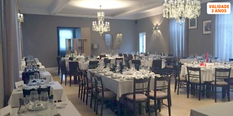 Menu de Degustação para Dois | Hotel Bienestar Termas de Vizela