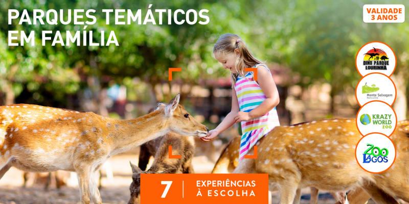 Parques Temáticos em Família | 7 Experiências à Escolha