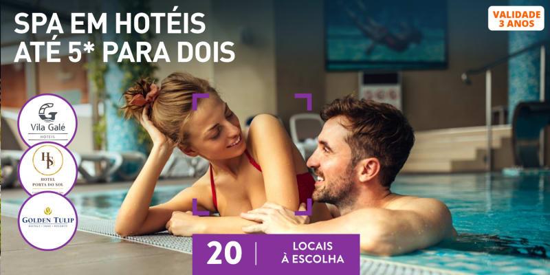 SPAs de Hotel para Dois | Circuito + Massagem ou Tratamento | 20 Locais à Escolha