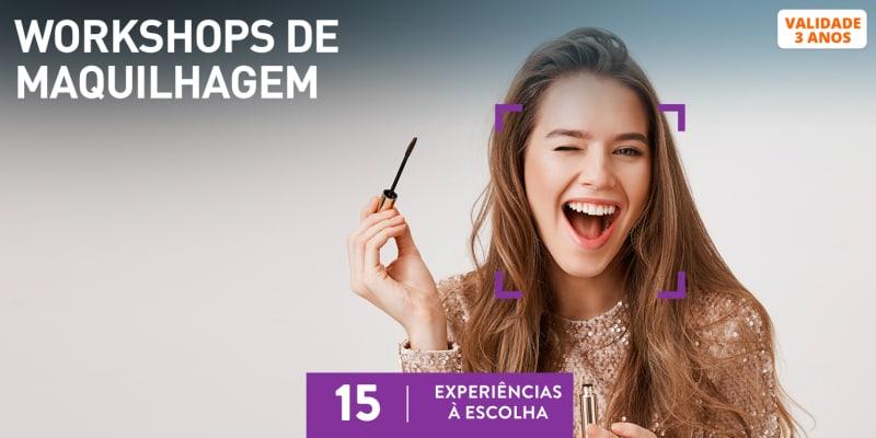 Workshops de Maquilhagem | 15 Experiências à Escolha