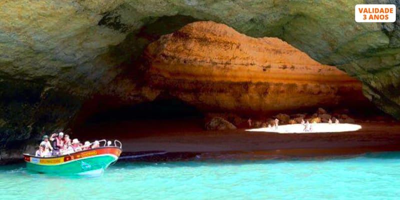 Passeio de Barco até às Grutas de Benagil, Lagos ou Silves   2h   Allarade Portimão