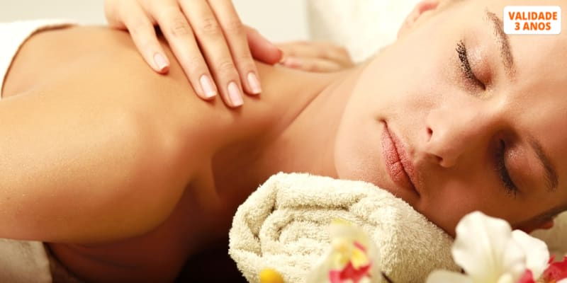 Massagem de Relaxamento com Óleos & Aromaterapia   1 Hora   Cascais