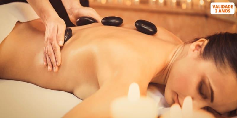 Massagem à Escolha! Relax, Terapêutica, Velas ou Pedras Quente - 30 ou 45 Minutos | Colinas do Cruzeiro