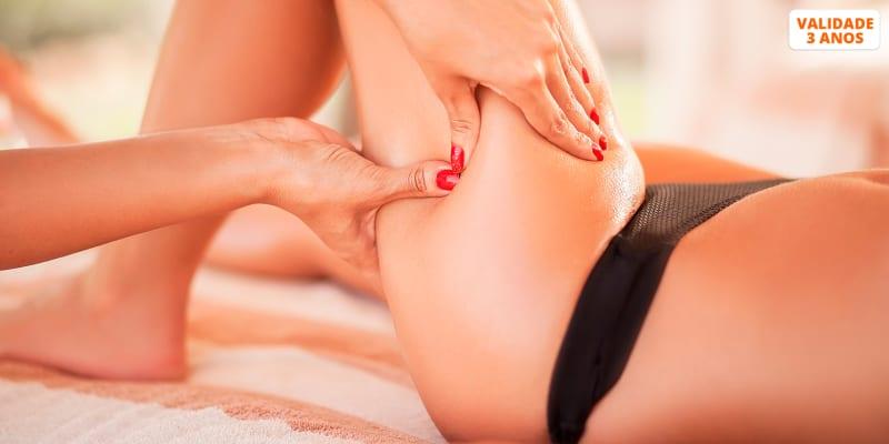 Drenagem Linfática Manual ou Bamboo Massage - 1 ou 3 sessões   Restelo