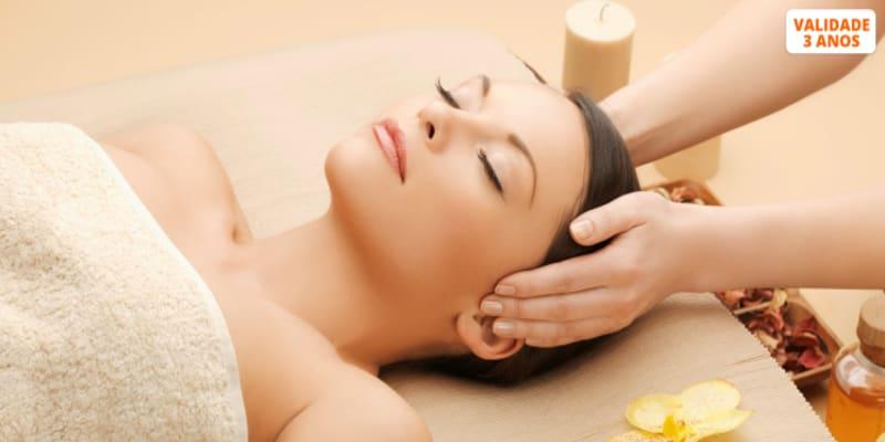 Experiência Corpo e Rosto! Massagem + Presso + Spa | Clín. Riviera Cascais