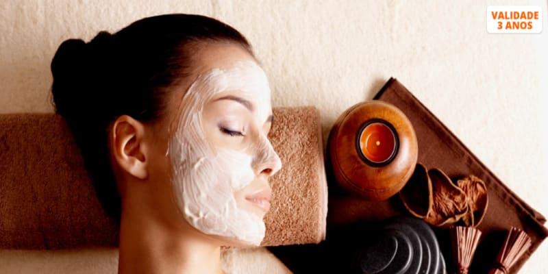 Spa Facial | Limpeza + Microdermoabrasão + Máscara | Telheiras