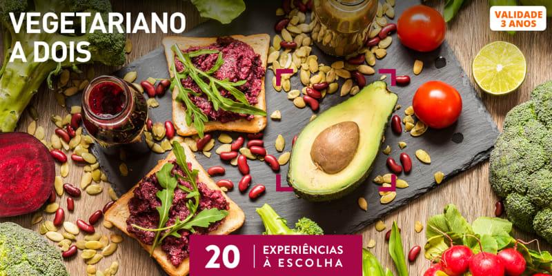 Vegetariano a Dois | 20 Experiências à Escolha