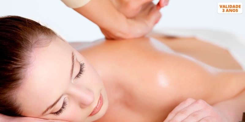1 ou 3 Sessões de Massagem Terapêutica ou Desportiva   Laranjeiras