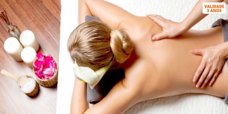2 Massagens à Escolha! Relax, Terapêutica, Desportiva ou Modeladora | Oeiras ou Lisboa
