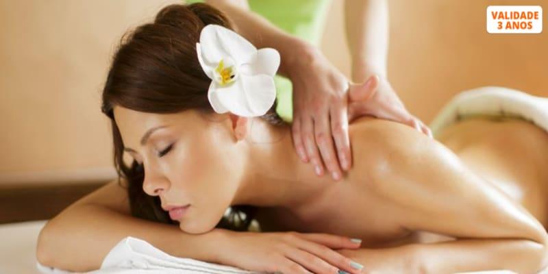 Massagem Corpo Inteiro   Relax, Óleo, Aroma ou Velas - 45 Min.   LxLife