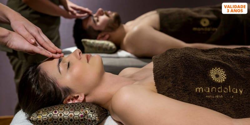 Retiro Espiritual a Dois com Massagem à Escolha & Circuito de Águas | Mandalay Spa 5* - 3 Locais