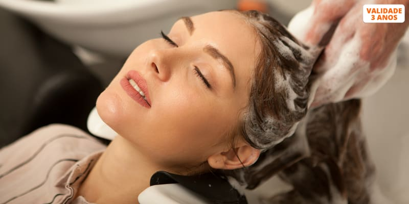 Massagem Hair Spa c/ Aromaterapia + Brushing c/ Top Stylist c/ Opção Corte e Manicure   Factory Hair Artisans - Lisboa