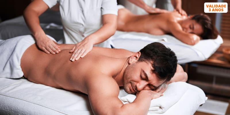 Massagem Relax c/ Ritual de Chá & Chocolates - 1 Hora | Av. 5 de Outubro
