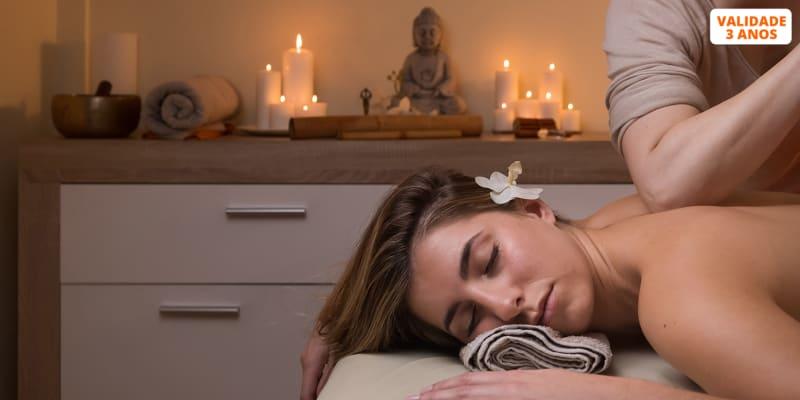 1 ou 3 Sessões de Massagem de Relaxamento | Osteomovimento - Lisboa