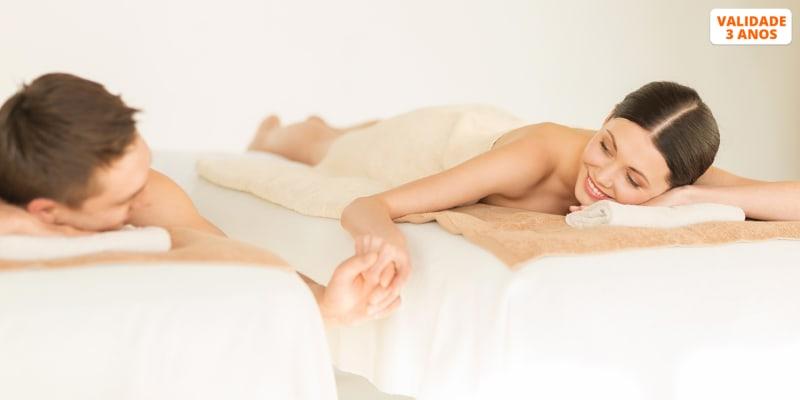 Massagem à Escolha + Ritual Chá | 2 Pessoas | Príncipe Real