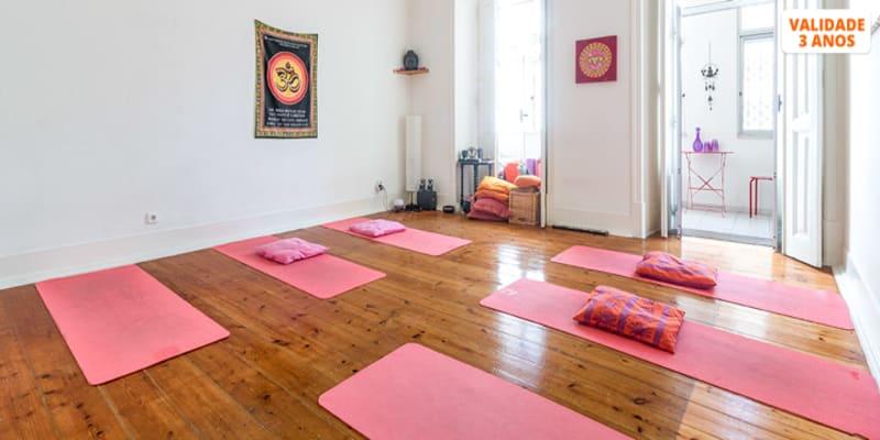 Aulas de Yoga - 1 Mês | Saldanha
