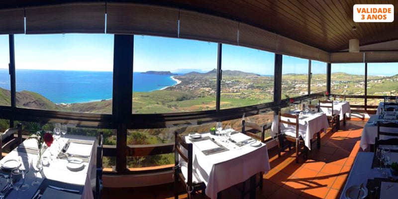 Lapas Grelhadas para Dois no Panorama Restaurant and Lounge Bar | Ilha de Porto Santo