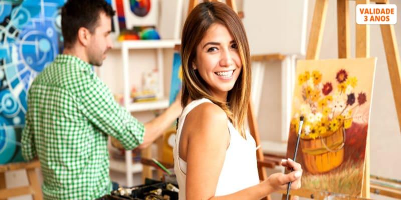 Workshop de Pintura a Aguarela ou a Pastel Seco   1h30   Pedaços d´Arte - Porto