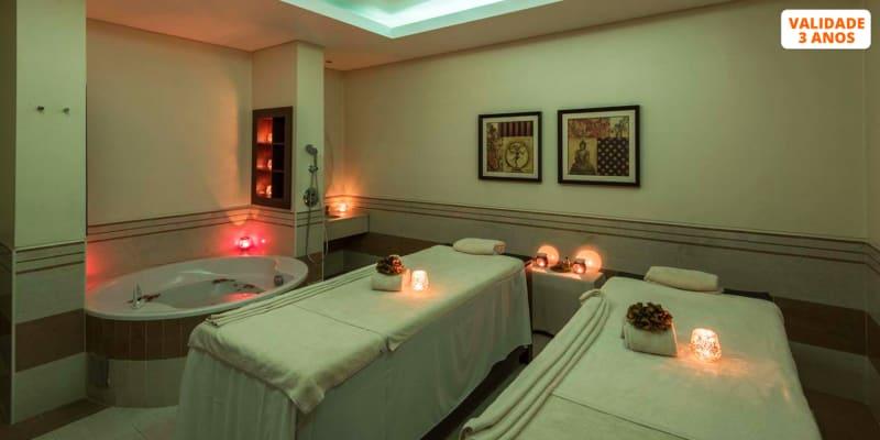 Especial para Dois: Massagem + Circuito + Ritual Chá   3 Spa Satsanga Vila Galé