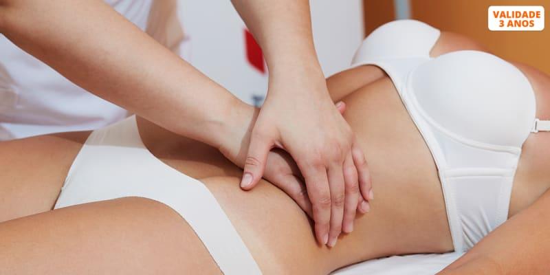 4 Sessões de Massagem à Escolha - Redutora, Anticelulítica, Bambuterapia ou Turbinada   Almada
