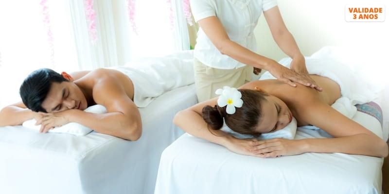 Esfoliação Corporal + Massagem a Dois - 1h30   Respire Salt Therapy by V&C - Lisboa
