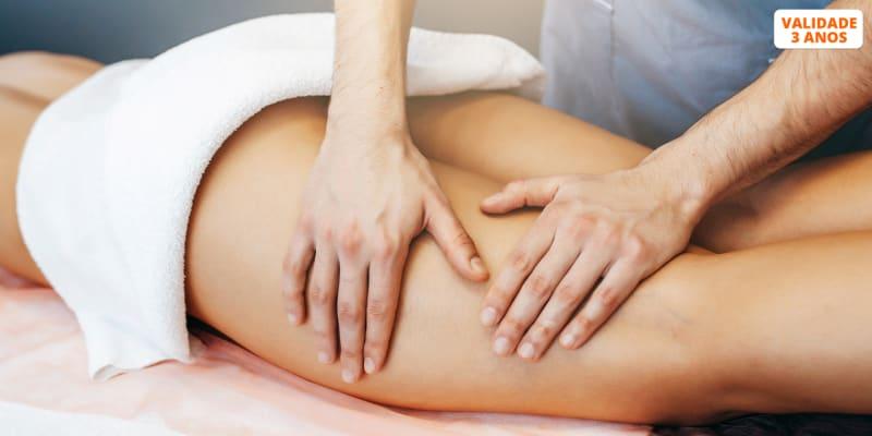 3 ou 6 Sessões de Massagem Método Amanda Fernandes ou Massagem Modeladora Turbinada - Bairro Azul