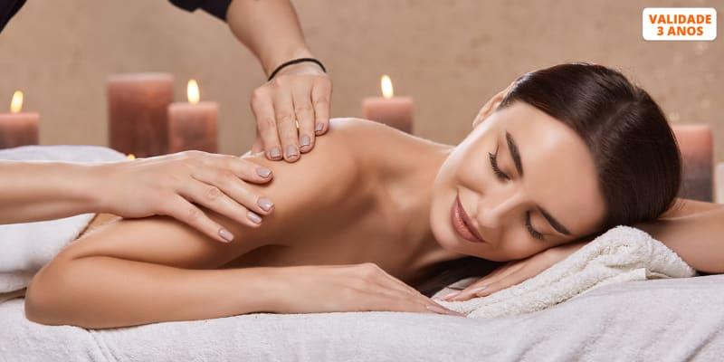 Massagem à Escolha - Relaxamento ou Óleos   Até 1 Hora   Cariz Glamour - Baixa de Lisboa