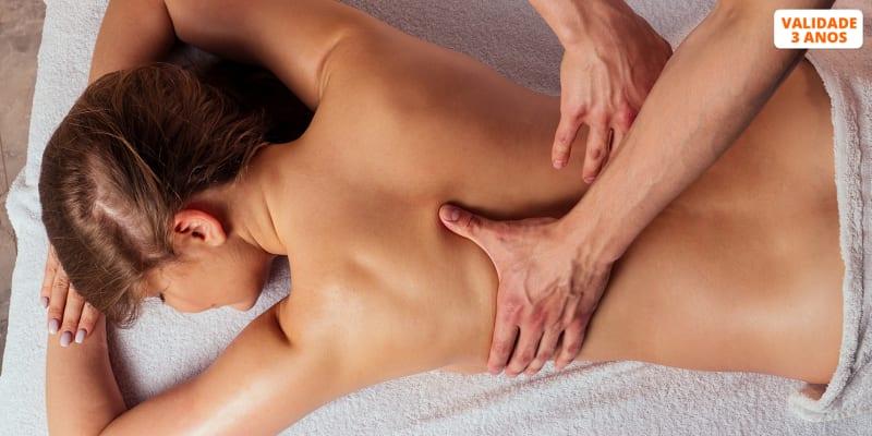 Momento Exclusivo de Tranquilidade! Massagem de Relaxamento - 1 Hora   Entrecampos