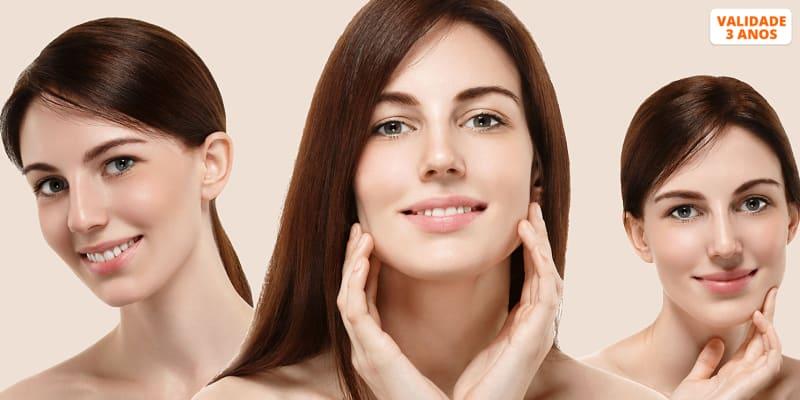 Rosto Premium com Limpeza Facial Profunda + Hidratação + Massagem   Laranjeiras