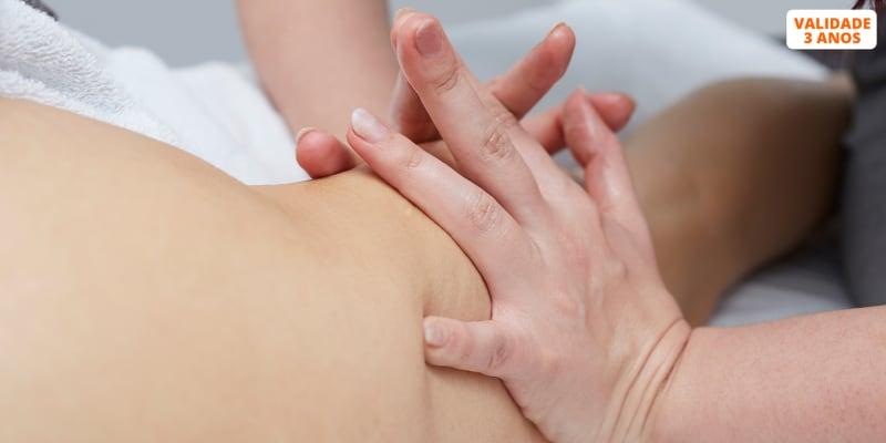 3 Sessões de Drenagem Linfática Manual ou Massagem Redutora | Oeiras