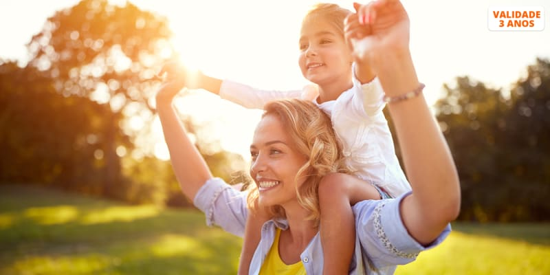 Momentos Apaixonantes em Fotografia! Mãe ou Pai + Filho(s) | Até 4 Pessoas