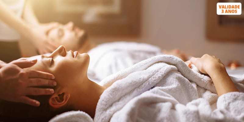 A Dois! Massagem de Relaxamento ou Velas Quentes   Dello Clinique - Laranjeiras
