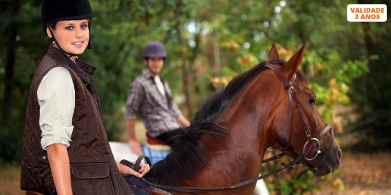 Passeio a Cavalo no Ribatejo - 1 ou 2 Pessoas | Centro Equestre das Cachoeiras - Vila Franca de Xira