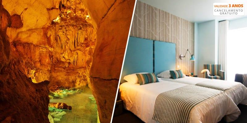 Hotel Estrela de Fátima 4*   Estadia com Opção Jantar e Visita às Grutas de Mira Daire
