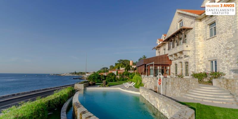 Hotel Solar Palmeiras 4* - Paço de Arcos   Estadia Romântica em Suite com Opção Jantar
