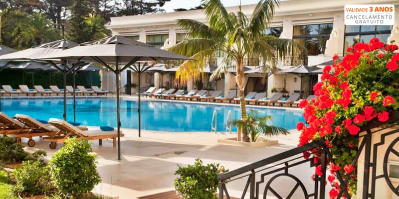 Palácio Estoril Hotel Golf & SPA 5* - Estoril | Estadia Junto ao Mar c/ Acesso ao Banyan Tree Spa e Opção Jantar